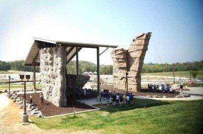 WW park climbing wall