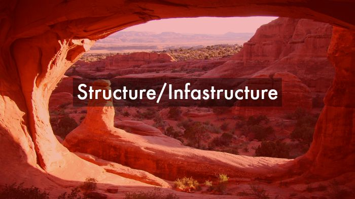 structure-infrastructure